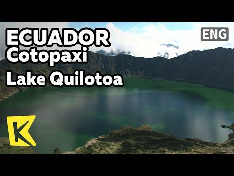 【k】ecuador-travel-cotopaxi[에콰도르-여행-코토팍시]칼데라호,-킬로토아-호수/lake-quilotoa/caldera-lake