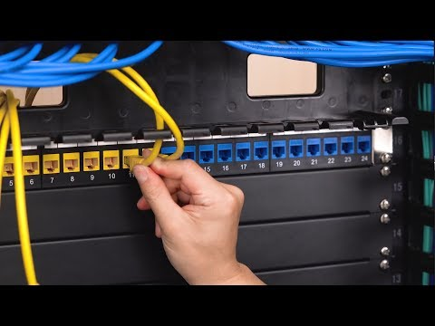 patch panel in french language