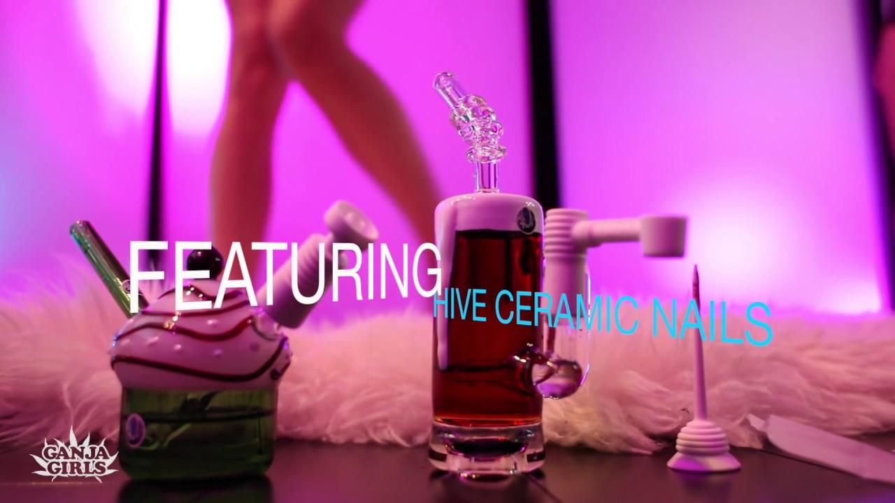 Crush Glass - Cupcakes, Beer & Sexy Dabs... Ganja Girls Style