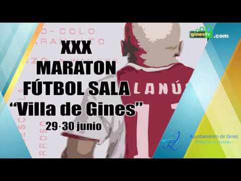 Vídeo Completo: Final XXX Maratón de Fútbol Sala de Gines 2019