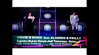 Video Aliando feat Prilly Galau - inginku bukan hanya jadi t download MP3, 3GP, MP4, WEBM, AVI, FLV Oktober 2017