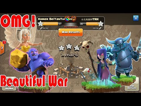 Clash of clans 2018 War, beautiful war attacker by HeaPeWiBo