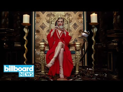 """Taylor Swift: """"Look What You Made Me Do"""" Video Hits 1 Billion YouTube Views 