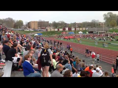 Sioux City Relays 2015 Open 200 College
