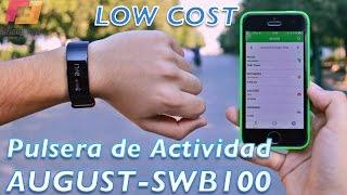 Pulsera de actividad LOW COST | August - SWB100