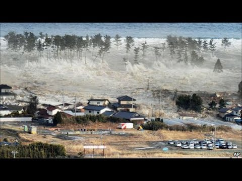 The latest video in Greenland when the tsunami struck | Channel News