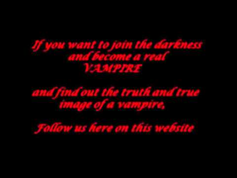 How To Become a Vampire For Real, 100% guaranteed - YouTube