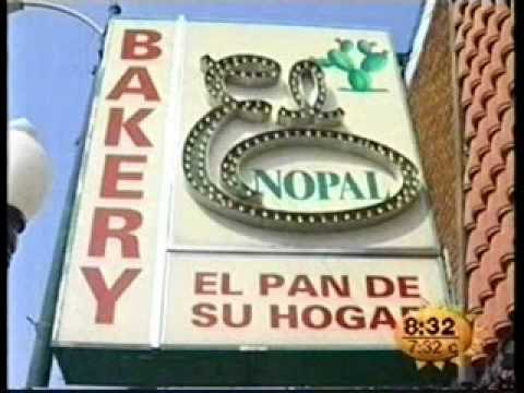 El Nopal Bakery Chicago TV interview. Pilsen and Little Vill