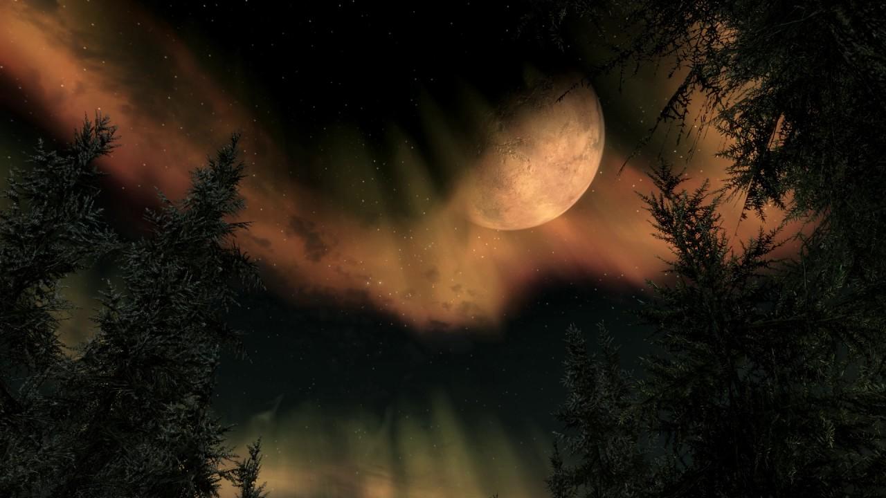 The Elder Scrolls V Skyrim Animated Wallpaper