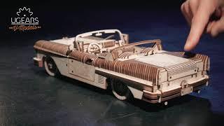 Ugears Dream Cabriolet VM-05: Assemble Me. Dream Along with Me