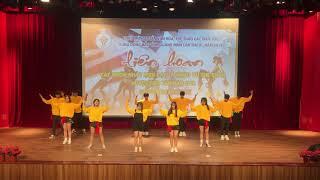 Fake love - River -poreotics - rich boy dance - Thi liên hoan nhóm nhảy - THPT Tiên Yên