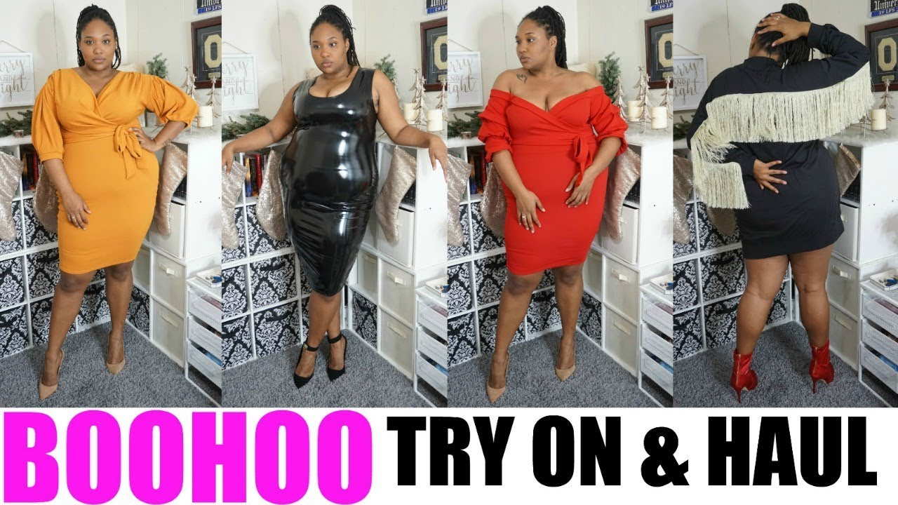 c1f8c53a887f6 Boohoo Plus Size Try On   Haul