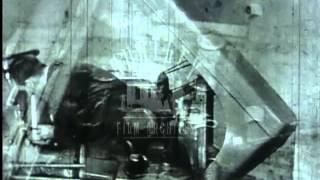 Farm Tractors, 1940's -- Film 1991