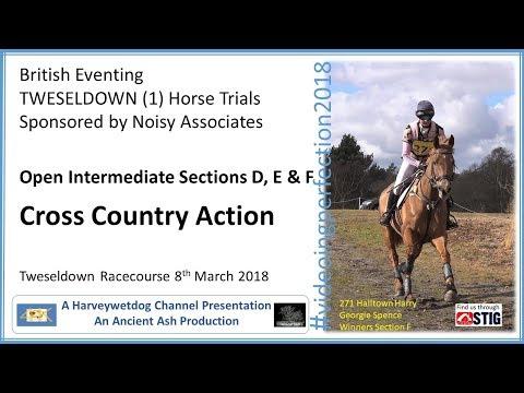 Tweseldown Horse Trials 2018: Open Intermediate Cross Country