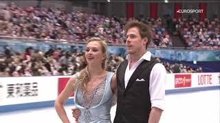 Победный ритм танец Виктории Синициной и Никиты Кацалапова на командном ЧМ по фигурному катанию