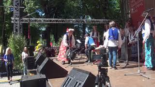 00162 Folkloras koris KARIOLLE (Vācija) Ārvalstu viesu kolektīvu koncertā Vērmanes dārzā 8.07.2018