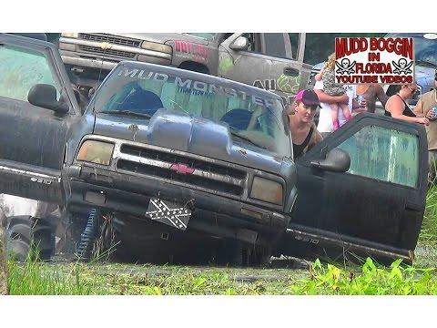 """Mega Truck S-10 """"Mud Monster"""" Relentless  In Bounty Hole."""