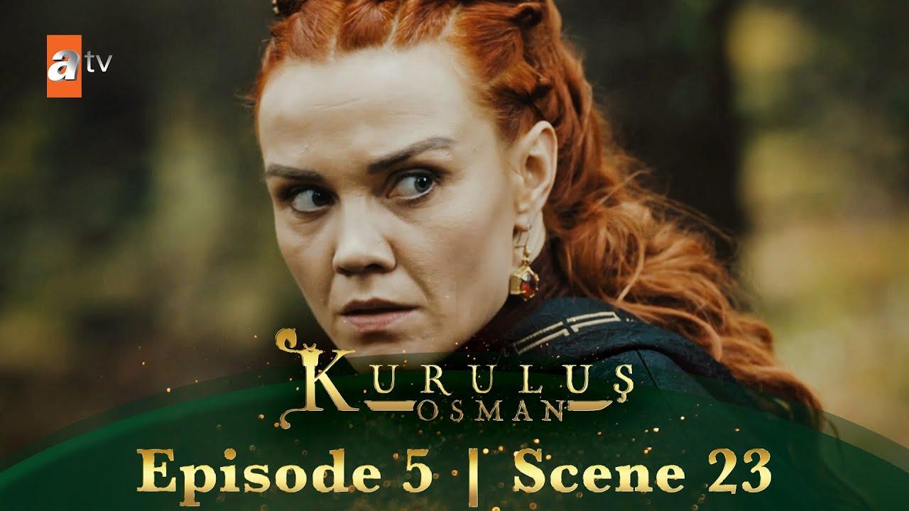Kurulus Osman Urdu | Episode 5 - Scene 23 | Sofia Bala ko pahchanti hai.