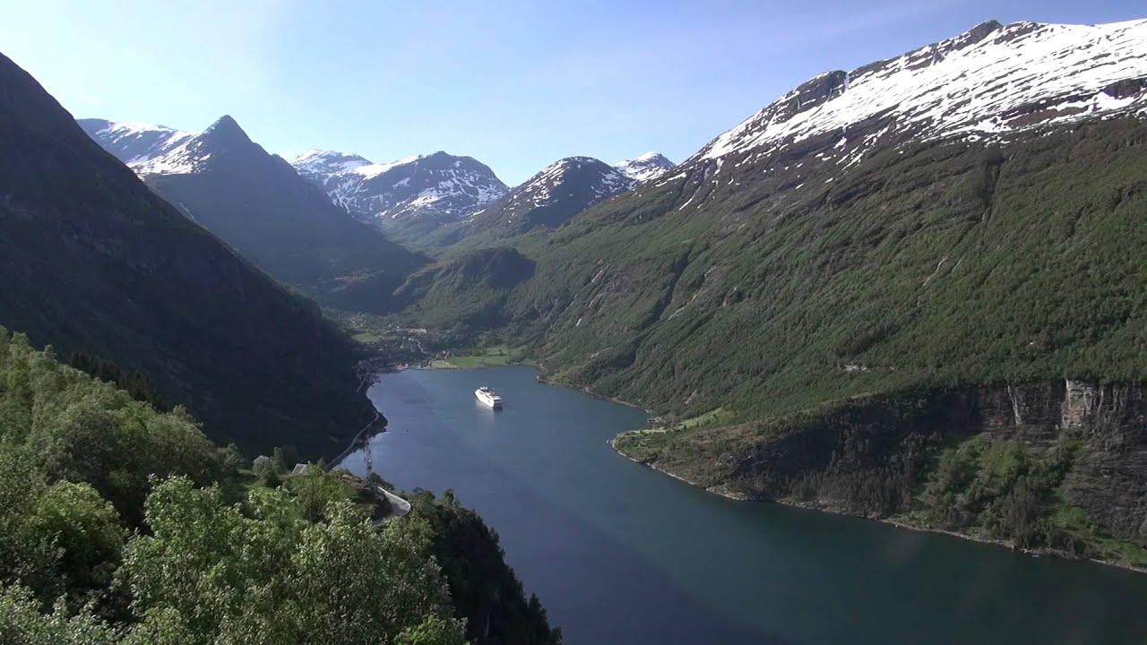 蓋朗格峽灣 飯店 Geiranger Fjord Hotel Norway