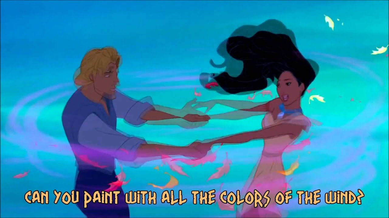 Pocahontas Colors Of The Wind Lyrics