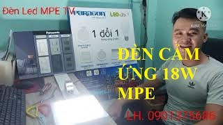Đèn Led ốp trần cảm ứng 18w MPE hoặc động như thế nào | Đèn led ốp trần nổi cảm ứng MPE ra sao