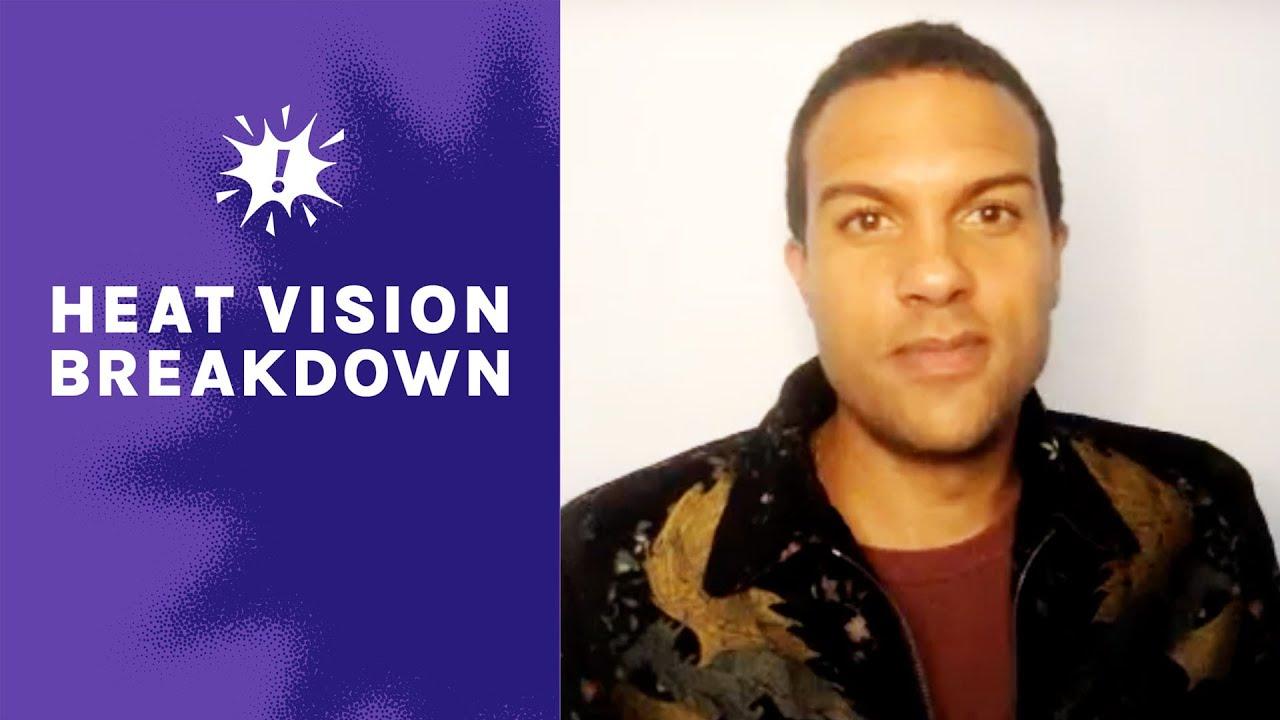 Black Widow' Actor O-T Fagbenle Talks Scarlett Johansson & Doing Final Scene   Heat Vision Breakdown