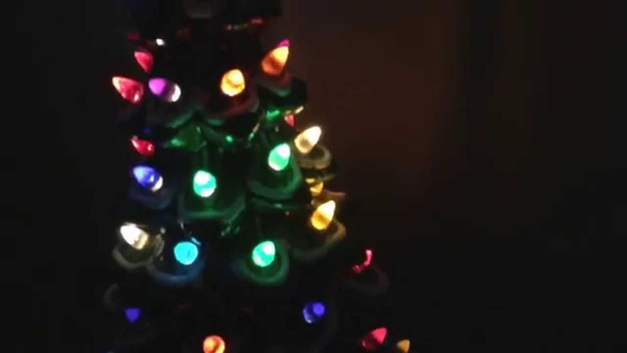 light up ceramic xmas tree - Ceramic Light Up Christmas Tree