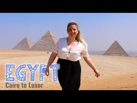 P1 | Exploring The Egyptian Pyramids In Cairo | Travel Talk Tours | Natasha Atlas