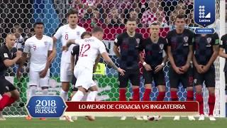LO MEJOR DE CROACIA VS INGLATERRA