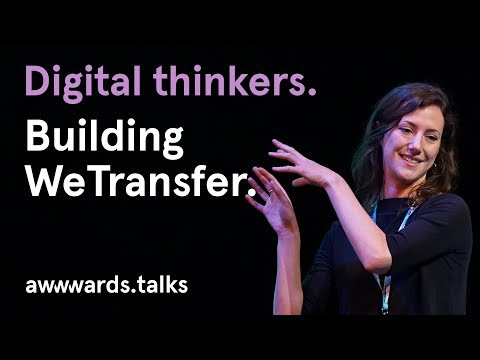 Building WeTransfer | Product Designer Amy West | Awwwards Conference Amsterdam