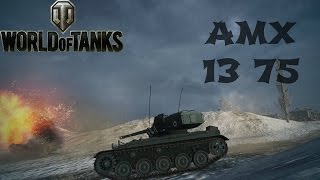 AMX 13 75 Review & Guide + Ace Tanker - World of Tanks
