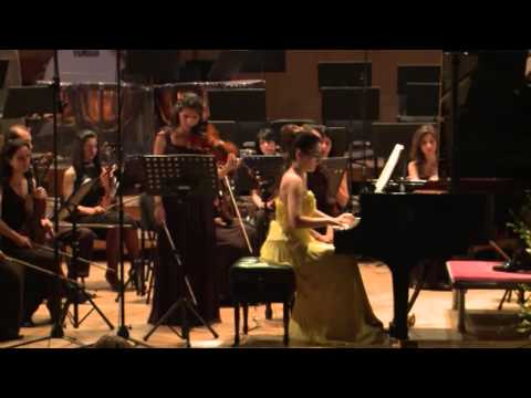 Felix Mendelssohn Double Concerto for Violin,Piano and String Orchestra in d moll