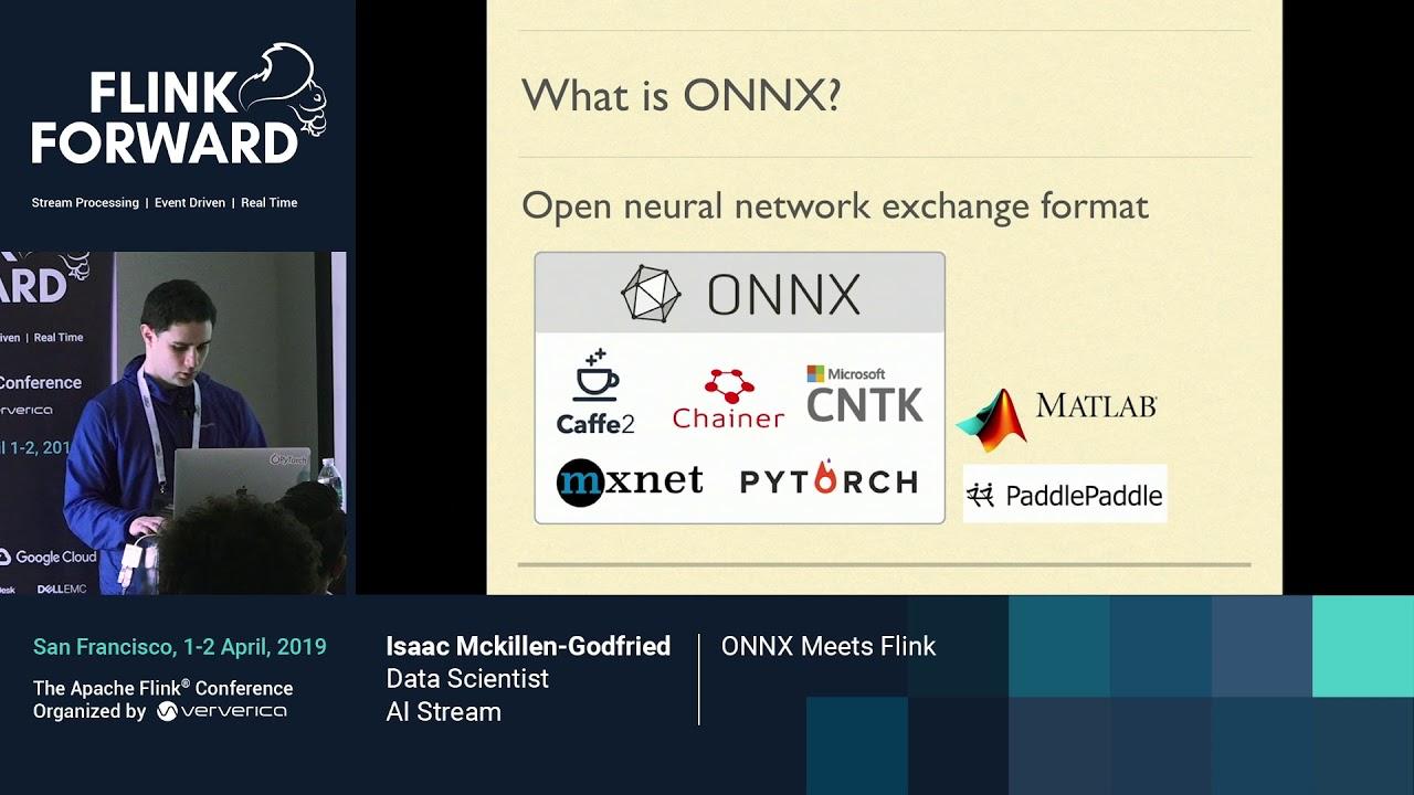 Deploying ONNX models on Flink - Isaac Mckillen-Godfried