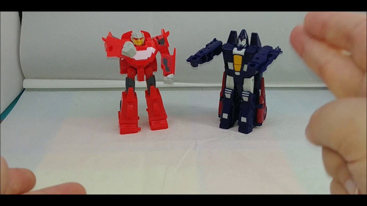 Chuck's Reviews Transformers Cyberverse Scout Class Ramjet and Dead End