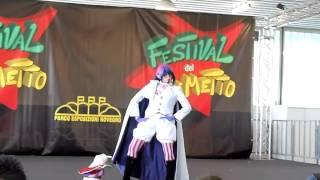 Mephisto Pheles - Blue Exorcist cosplay (Novegro 2013)