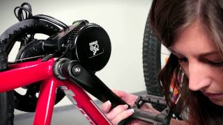 EVBIKE central axis motor - conversion kit (english subtitles)