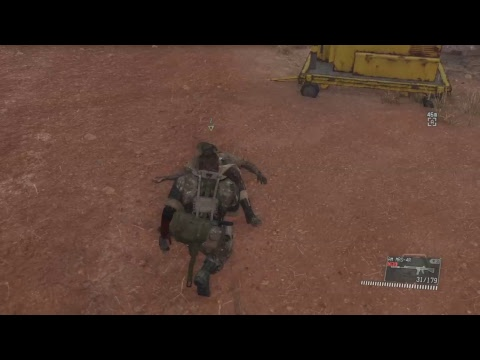 Metal Gear Solid V:Phantom Pain With Miguel