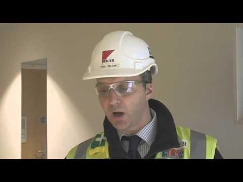 Inside the University of Northampton's new St John's halls of residence