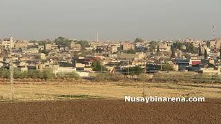 Suriye Kamışlı'da, Esat rejimi, YPGYPJ örgütün bayraklarını indirdi