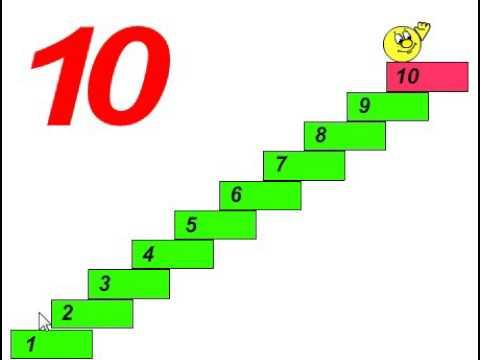 развивающая игра для малышей, учим цыфры