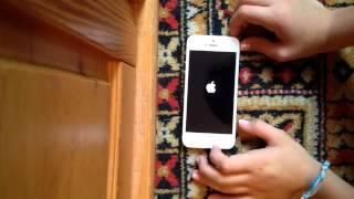 Ночь,утро,распаковка iPhone 5!!!