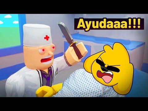 ¡ESCAPA DEL DOCTOR MALVADO! 🔪😱 MIKECRACK, TROLLINO y RAPTOR 😭🚫 ROBLOX #36
