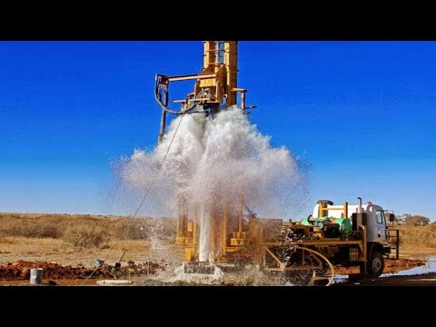 Incredible Modern Borewell Drilling Machines I Never Seen, Extreme Ingenious Construction Workers
