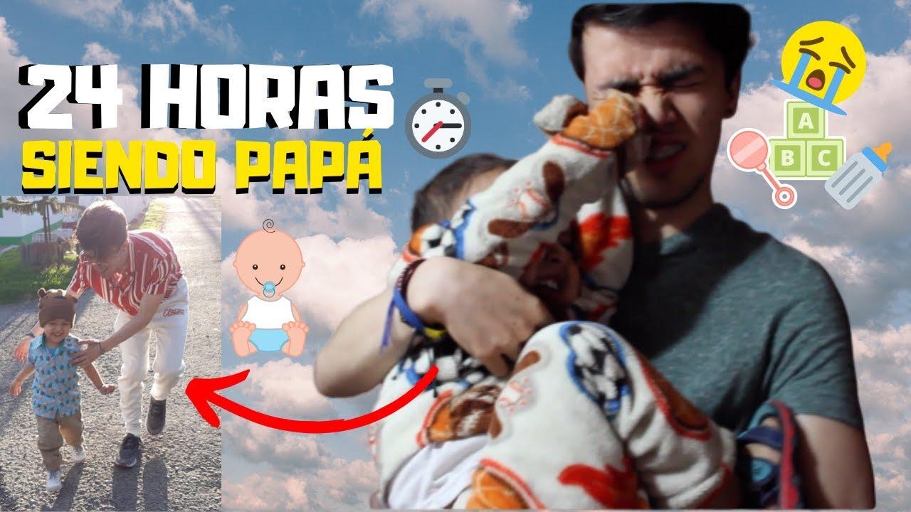 24 HORAS SIENDO PAPÁ 👶🏻🍼 (LEGENDARIO) | Juan Esteban Acero