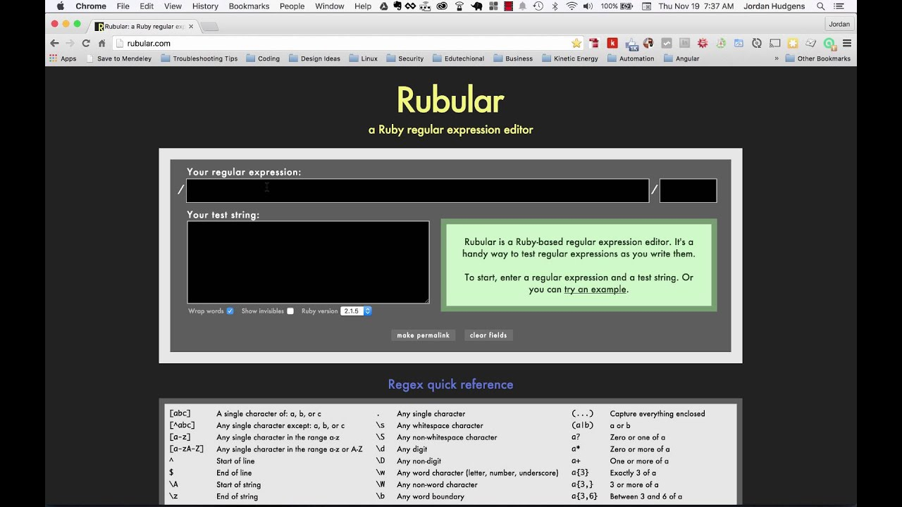 Building an IP address validator using regular expressions in Ruby