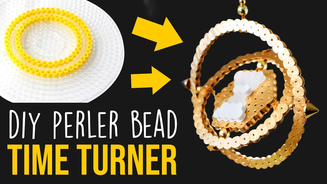 Diy Time Turner From Perler Beads Easy Harry Potter Craft