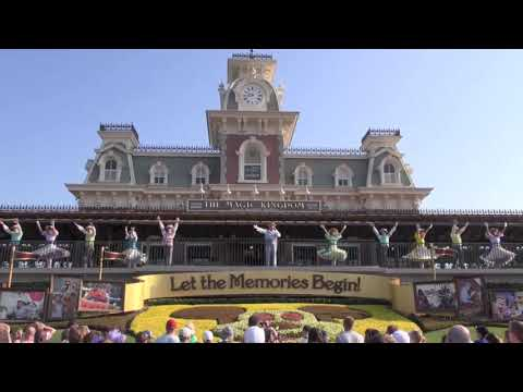 Magic Kingdom Welcome Show at Park Opening Walt Disney World HD 1080p