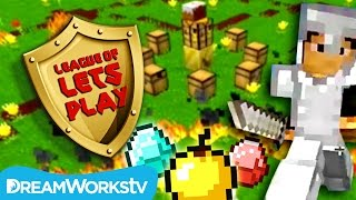 Minecraft Survival Games with Sky & Fin | LEAGUE OF LET'S PLAY