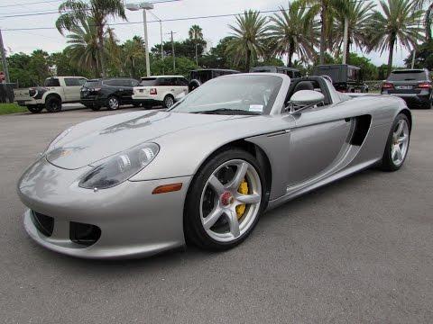 2005 Porsche Carrera GT Start Up, Exhaust, and In Depth Review