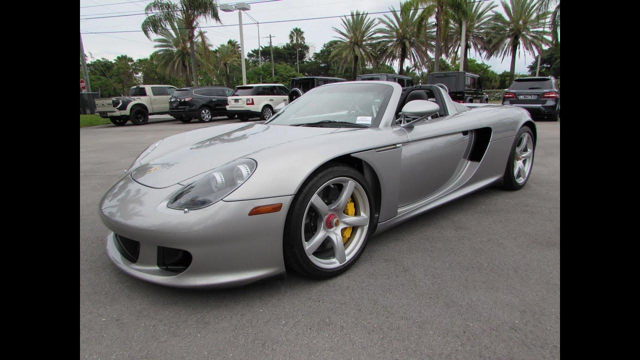 2005 Porsche Carrera Gt Start Up Exhaust And In Depth Review